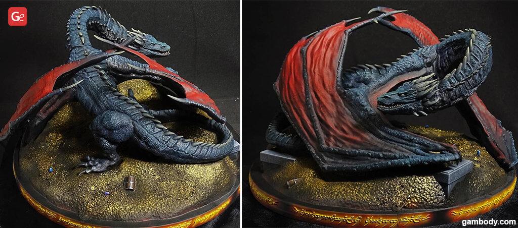 Smaug dragon 3D print