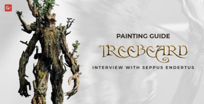 Fantastic Treebeard 3D Print Painting Guide: Interview with Seppus Endertus