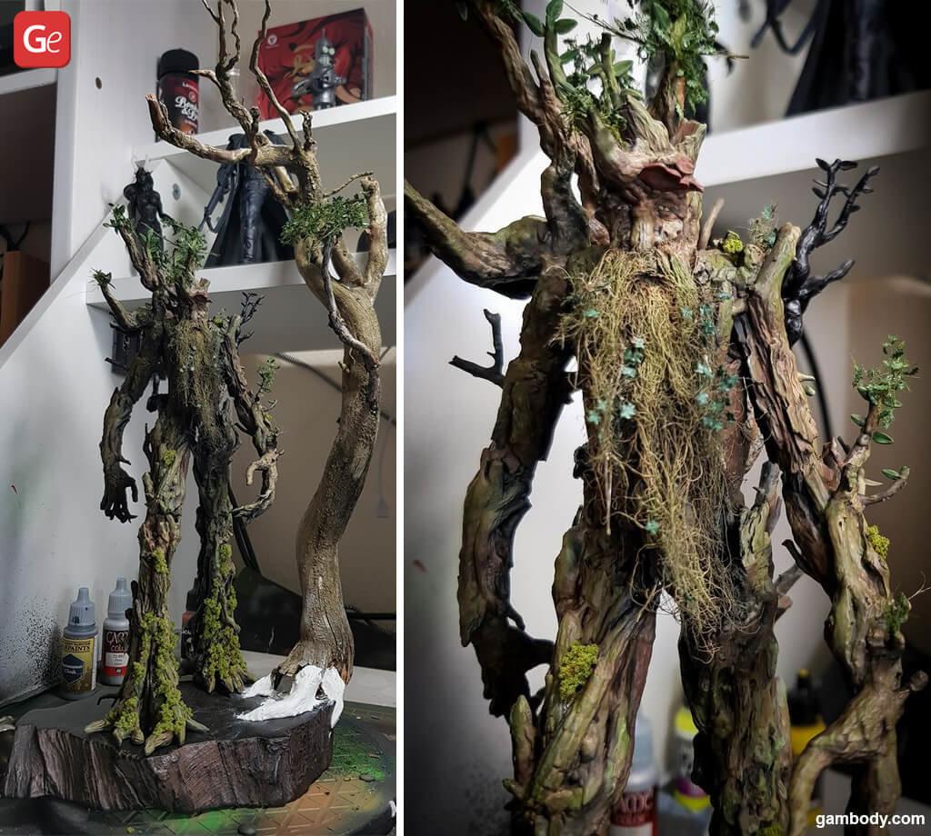Lord of the Rings Treebeard figure 3D print
