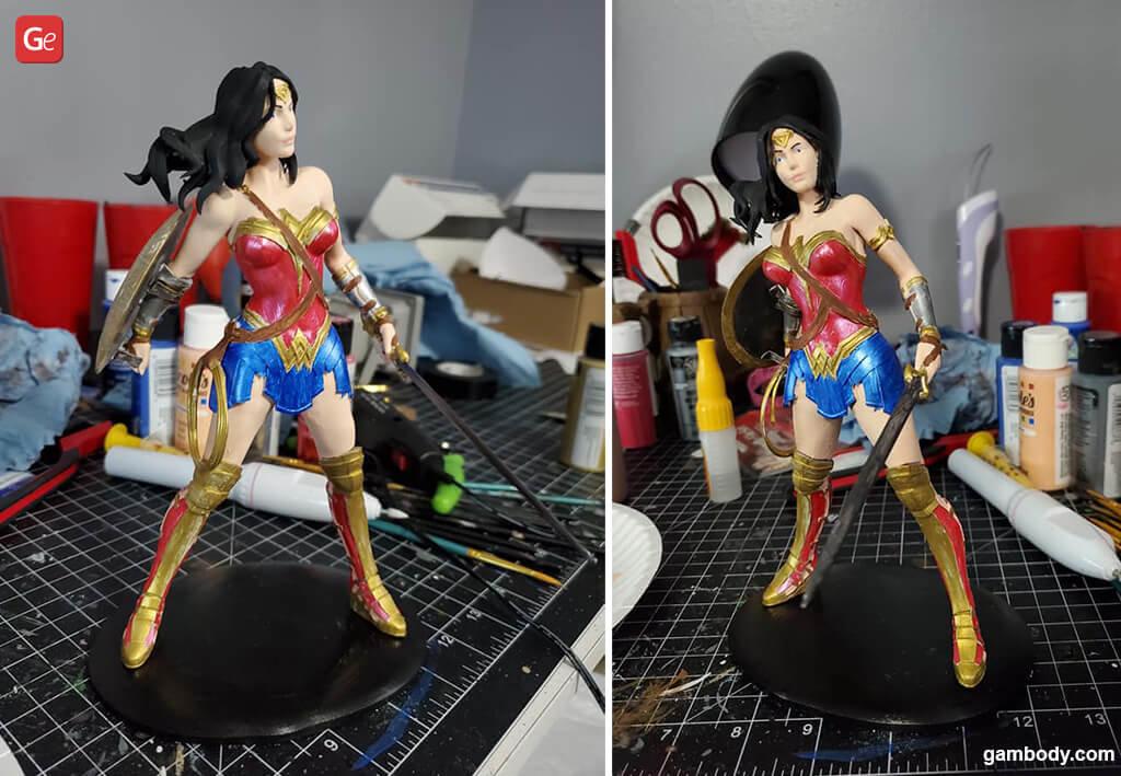Wonder Woman top 3D printing models 2020