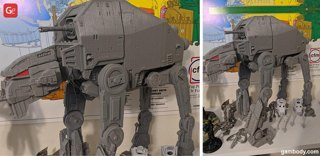 Gorilla Walker Star Wars popular 3D print models