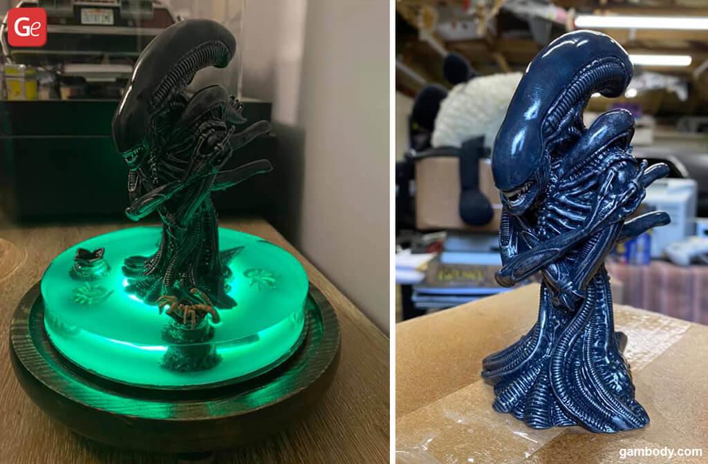 Alien Xenomorph Queen 3D model for printing