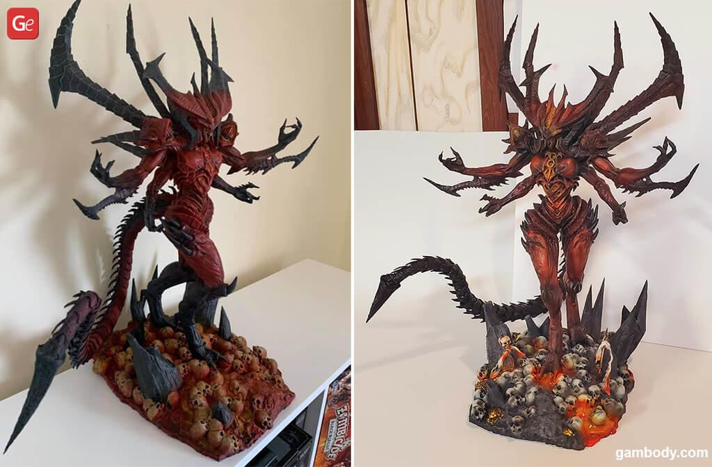 Diablo popular 3D prints from video game