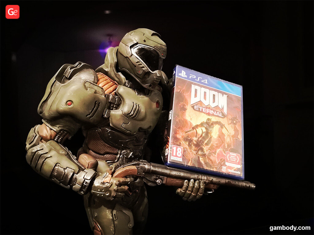 Doom Slayer figure