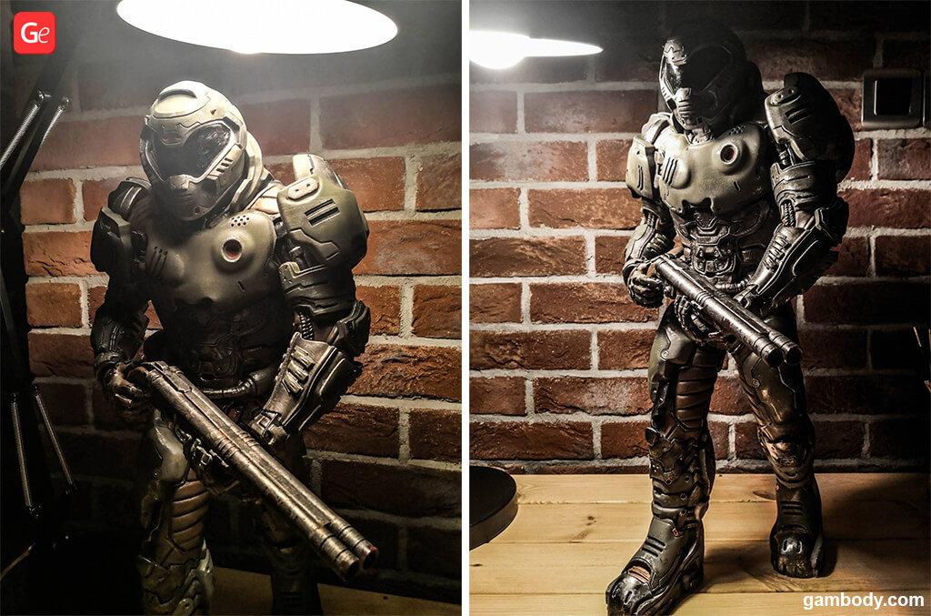 The Hellwalker Doom Eternal 3D printed figure
