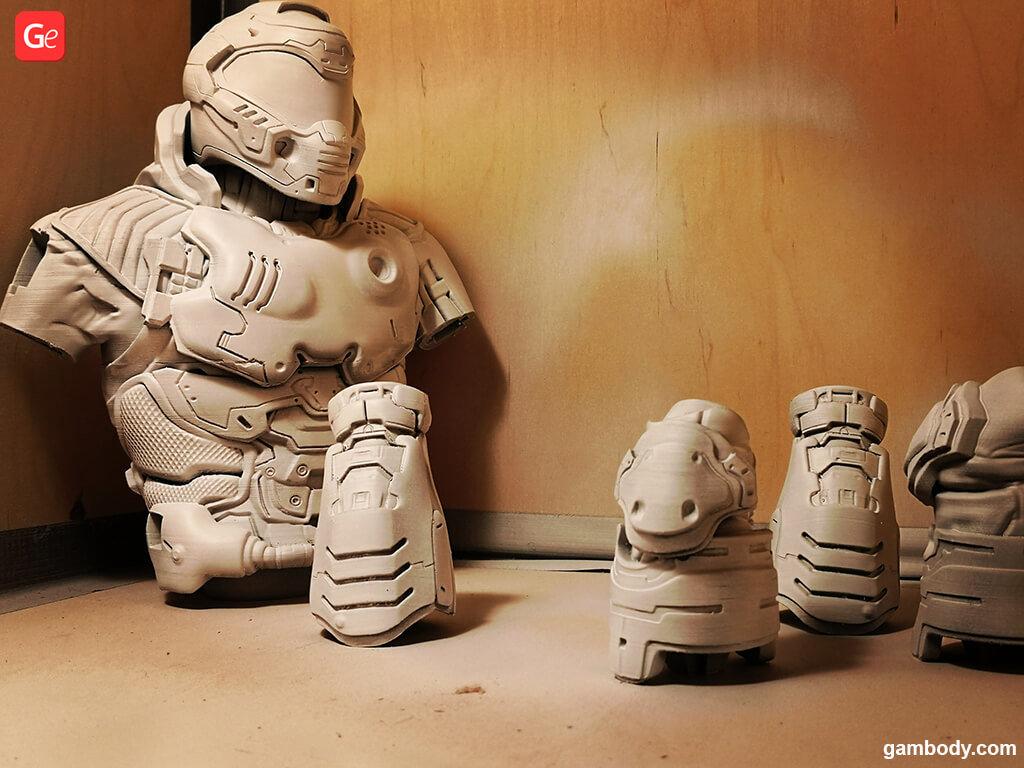 Doom Slayer 3D printing model