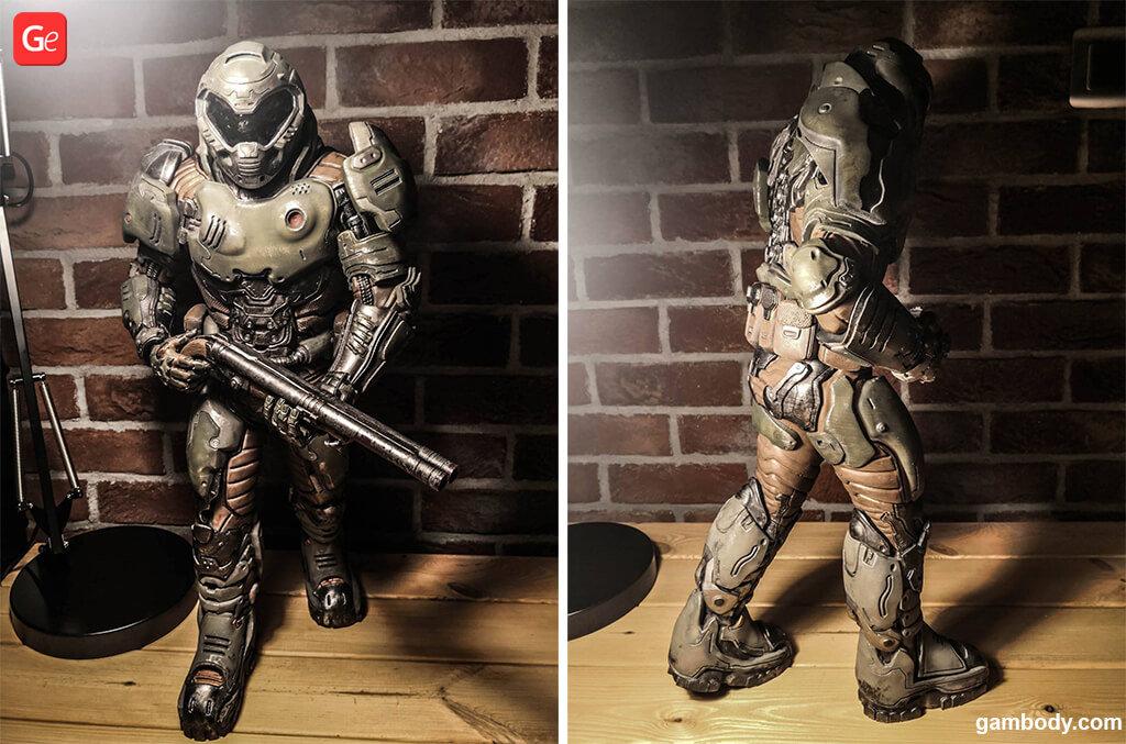 Doom Slayer 3D print from Gambody