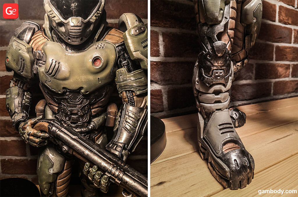 How to paint Doom Slayer figure