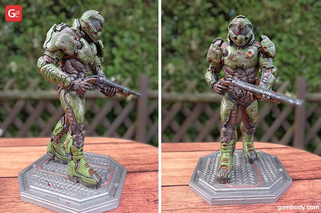 Doom Slayer impressive 3D printed model