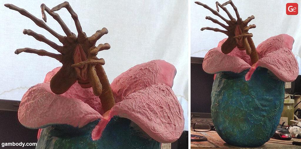 Facehugger 3D model Halloween 3D prints