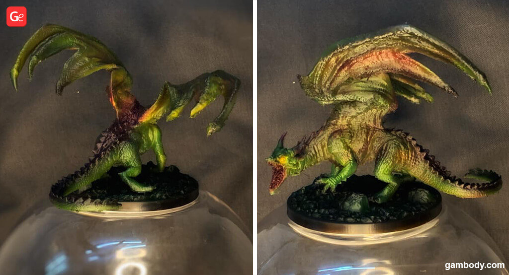 Dragon 3D printing with flexible filament