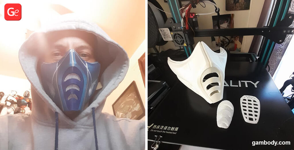 Flexible TPU Sub Zero face mask