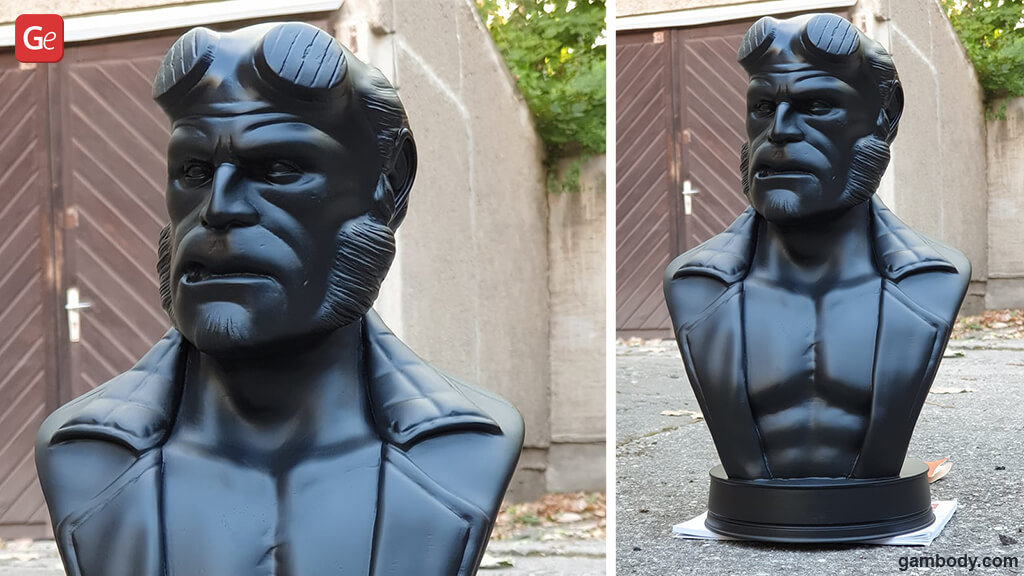Hellboy 3D print