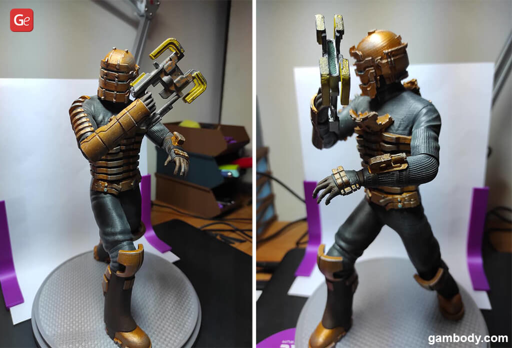 Isaac Clarke figurine 3D print