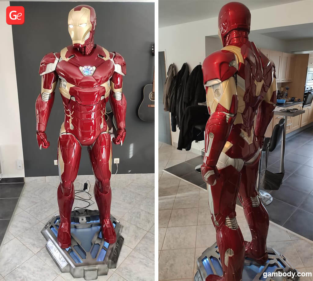 Iron Man 3D print with STLs to download