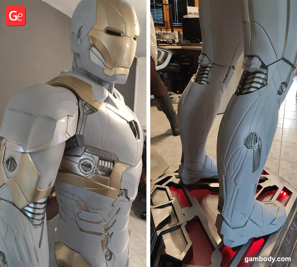 Giant Iron Man 191 cm figure 3D print