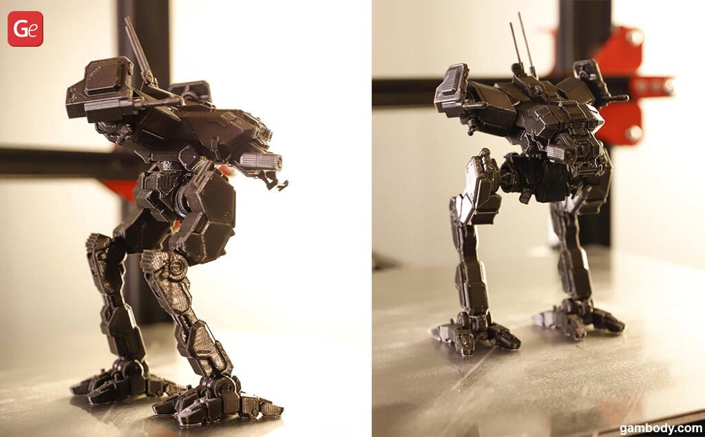 Popular MWO models to 3D print Locust