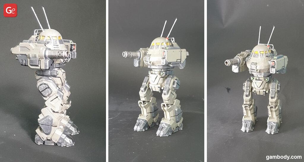MWO UrbanMech top 3D printed models