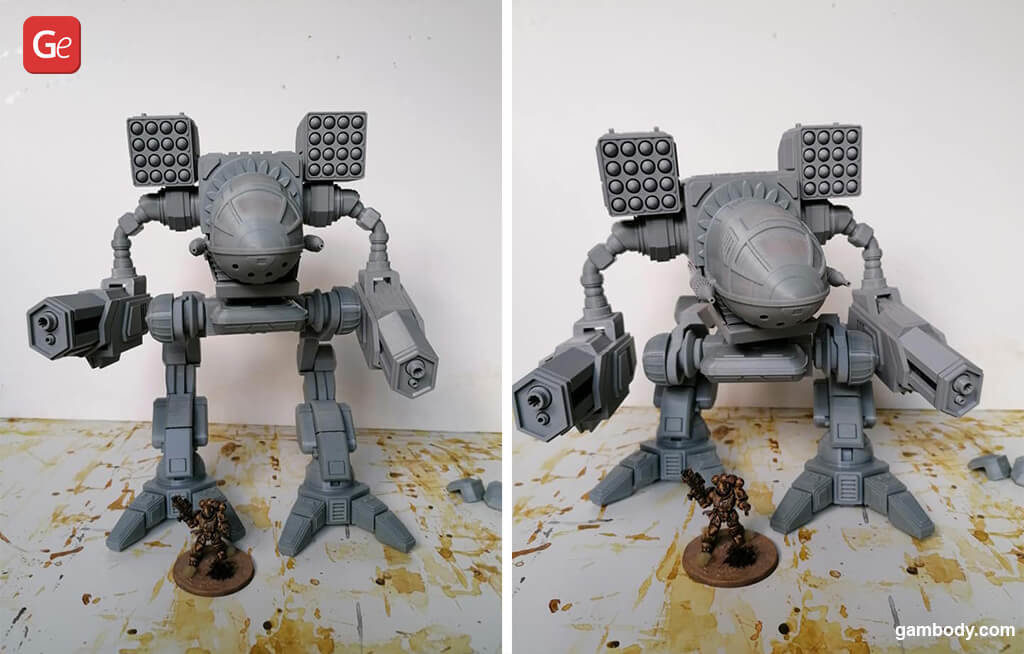 MWO MadCat Classic model for 3D printing
