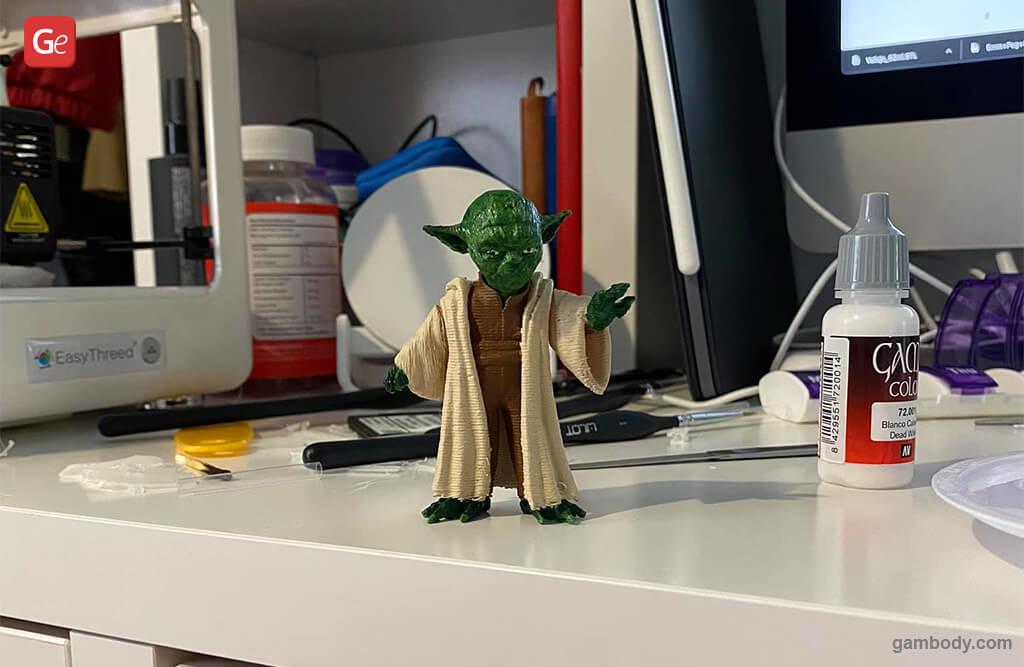 Master Yoda miniature