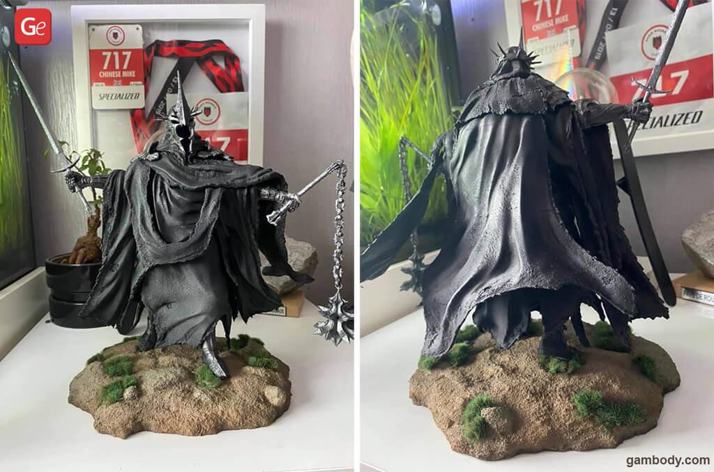 Nazgul 3D printed figurine