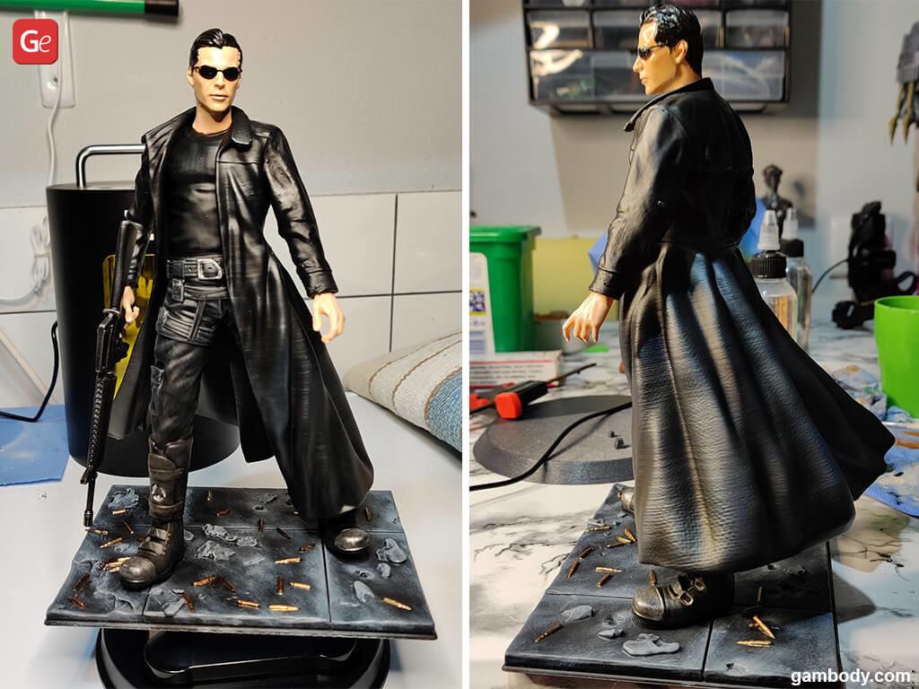 Matrix Neo 3D model for printing