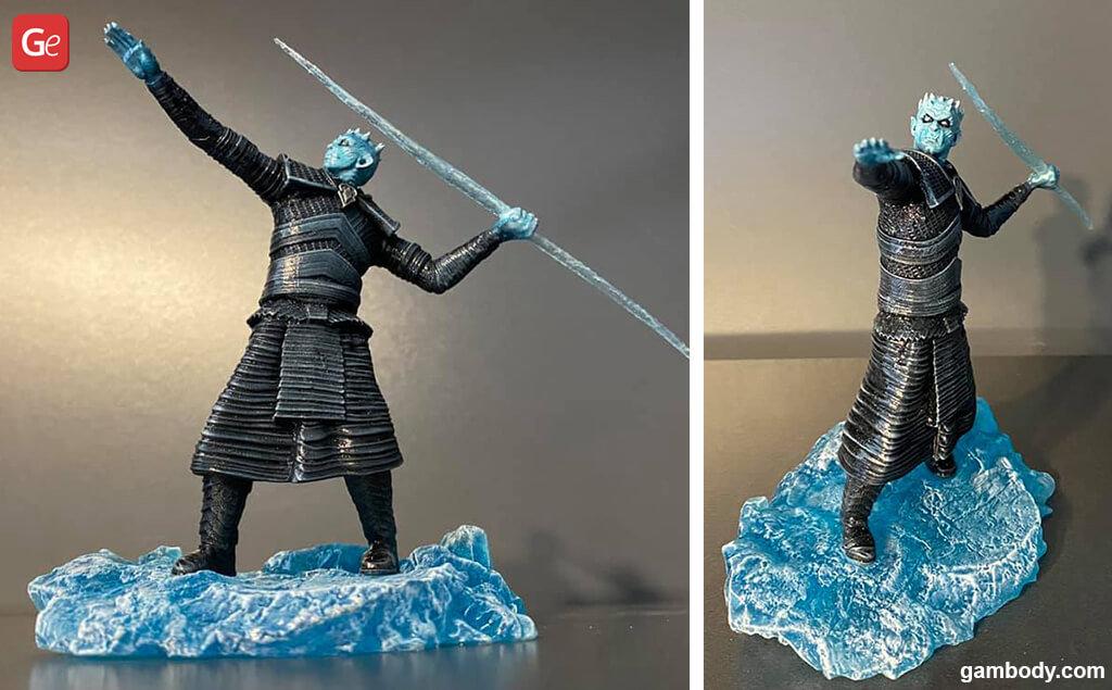 Game of Thrones Night King impressive 3D printed model