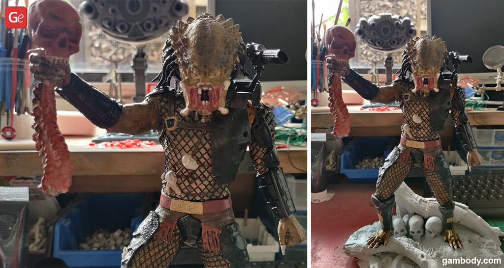 Predator Jungle Hunter impressive 3D prints