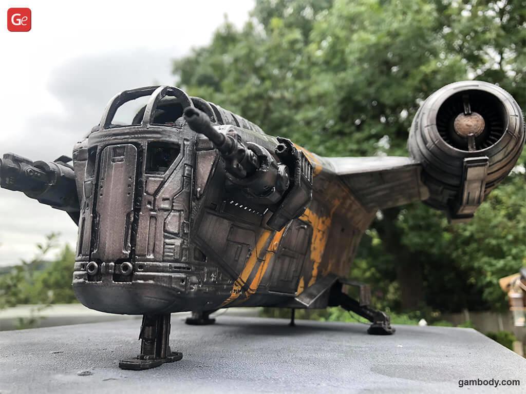 Razor Crest Mandalorian popular 3D print models