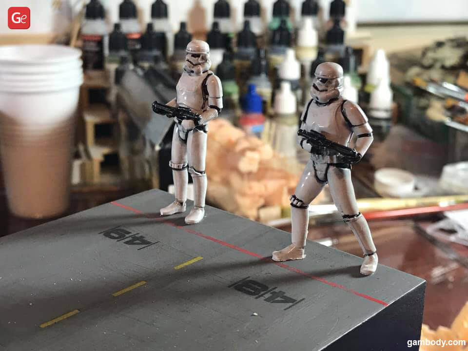 Stormtroopers figures amazing 3D prints from Star Wars