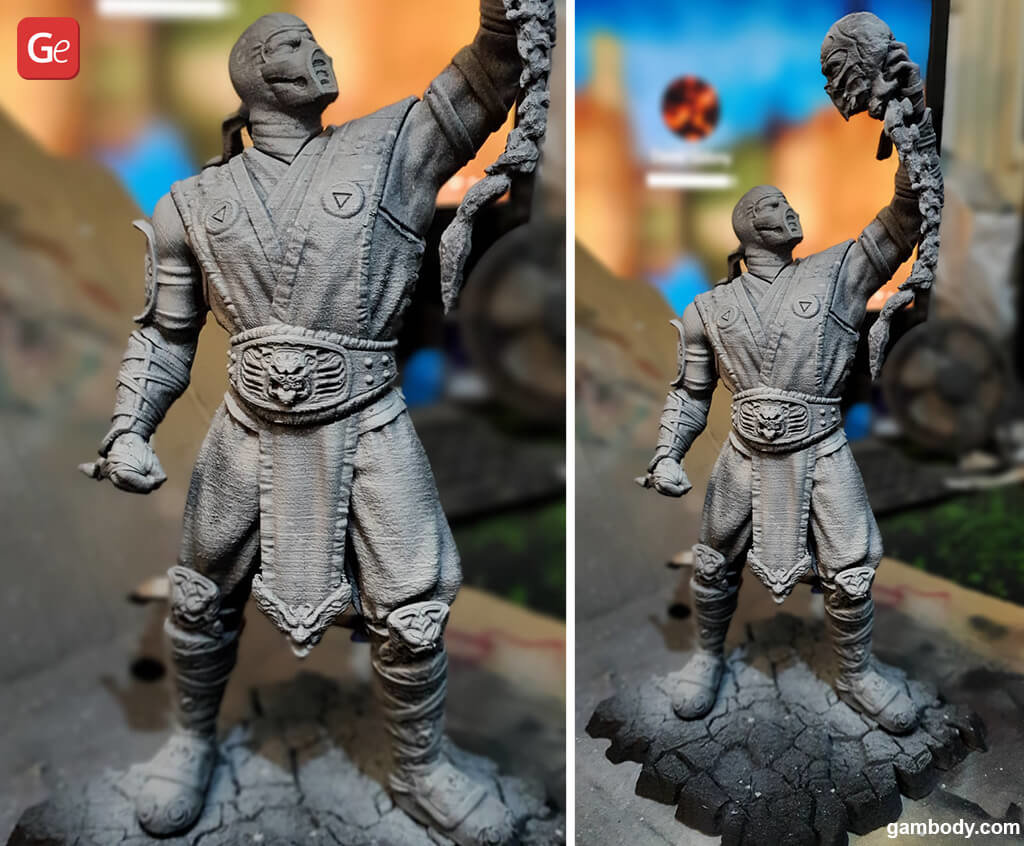 Sub-Zero Mortal Kombat model for 3D printing