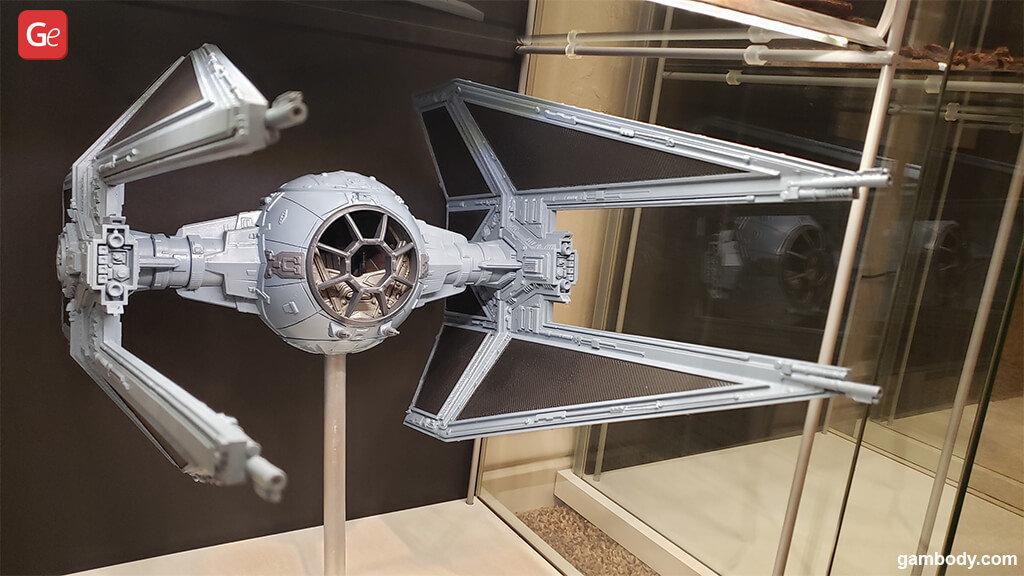 TIE Interceptor Star Wars 3D print