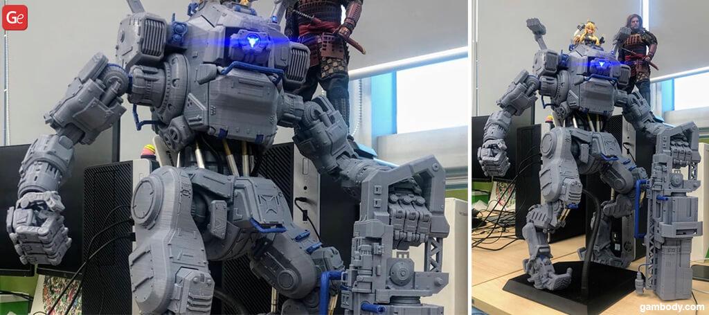 Titanfall 2 BT-7274 figure amazing 3D prints