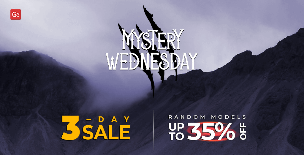 Mystery Wednesday Sale on Gambody