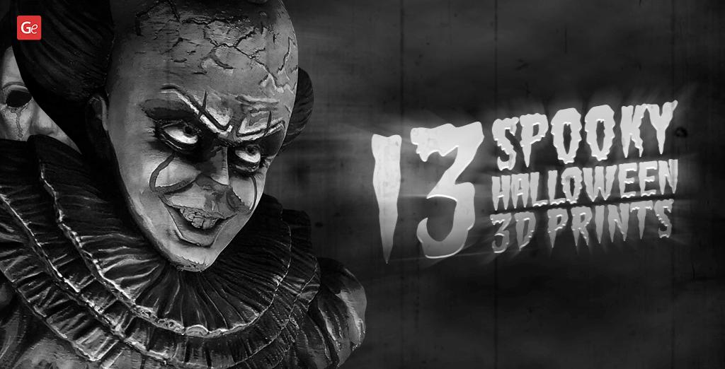 Spooky Halloween 3D prints