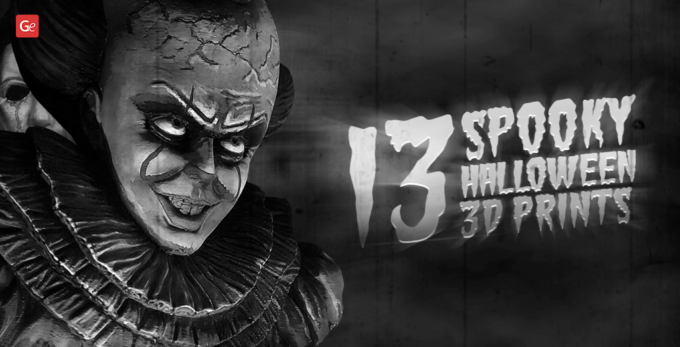 13 Spine-Chilling Halloween 3D Prints to Celebrate All Saints' Eve