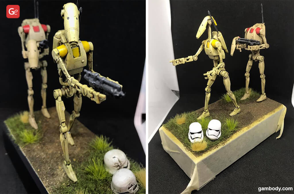B1 Battle Droid model fun things to 3D print