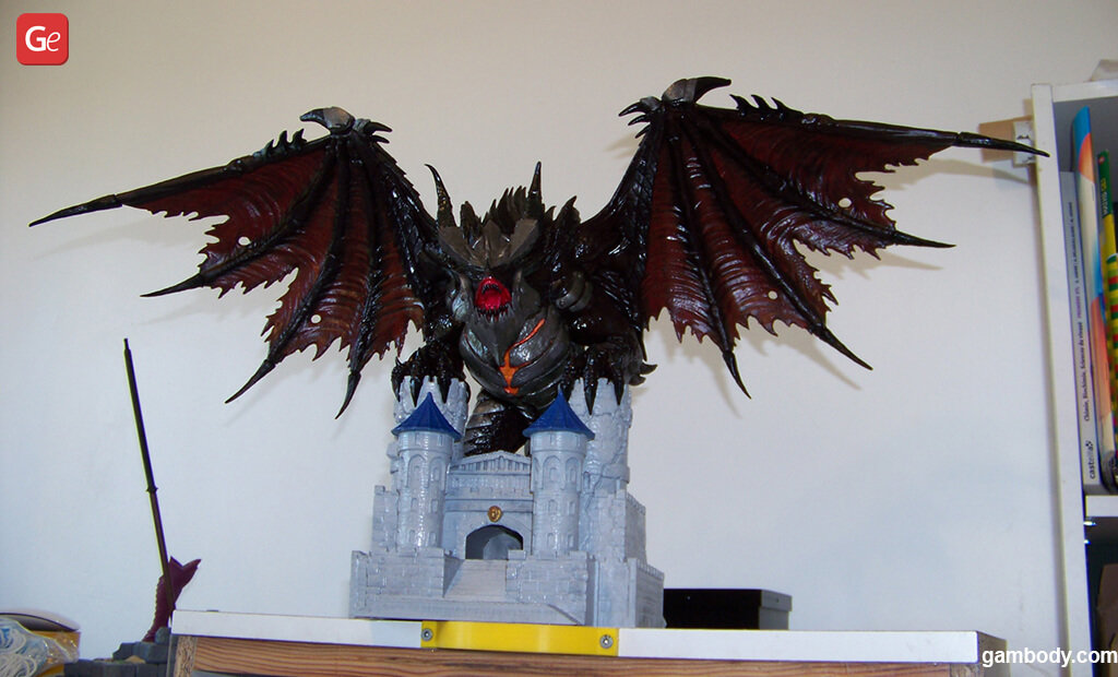 3D printed WoW Deathwing figure