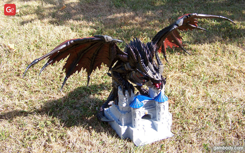 Dragon Deathwing from WoW 3D printed figure