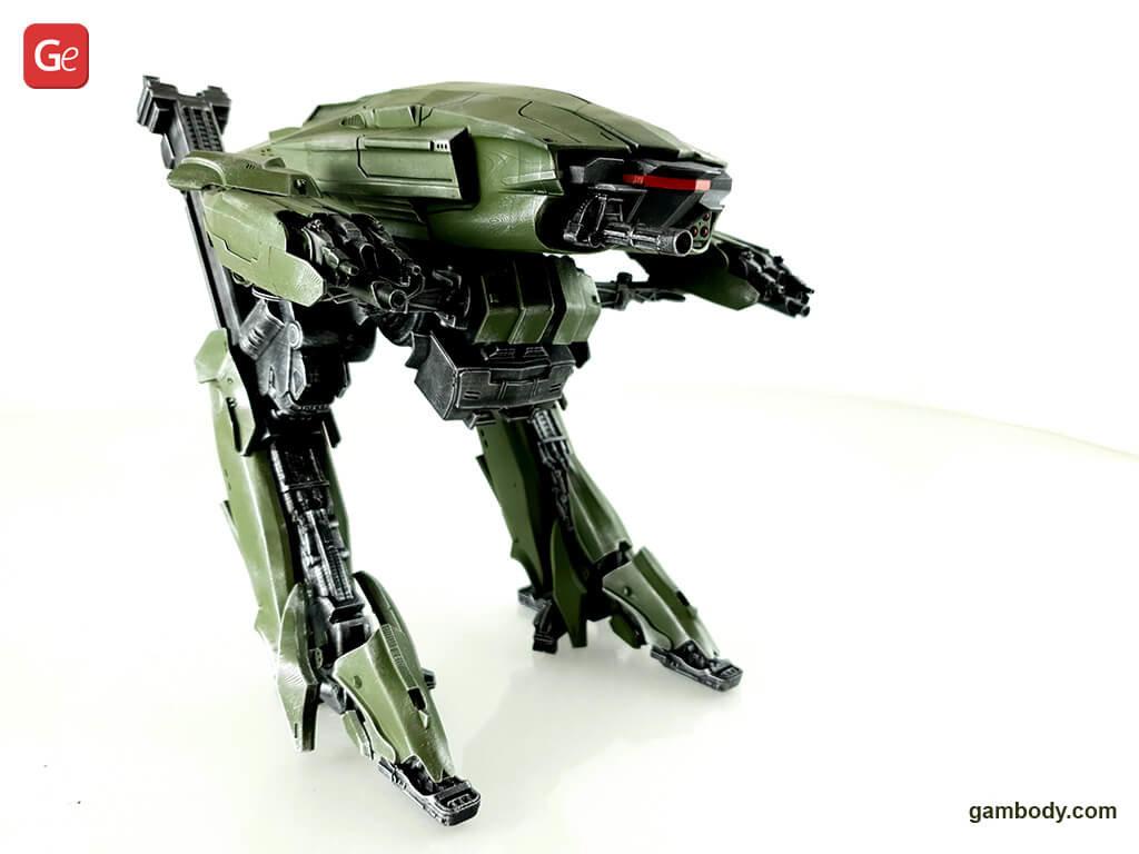 ED-209 3D printed model