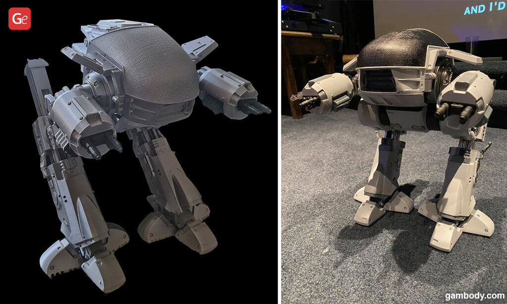 ED-209 RoboCop fun things to 3D print