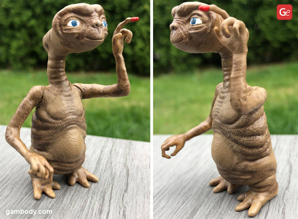 E.T. The Extra-Terrestrial figure fun things to 3D print