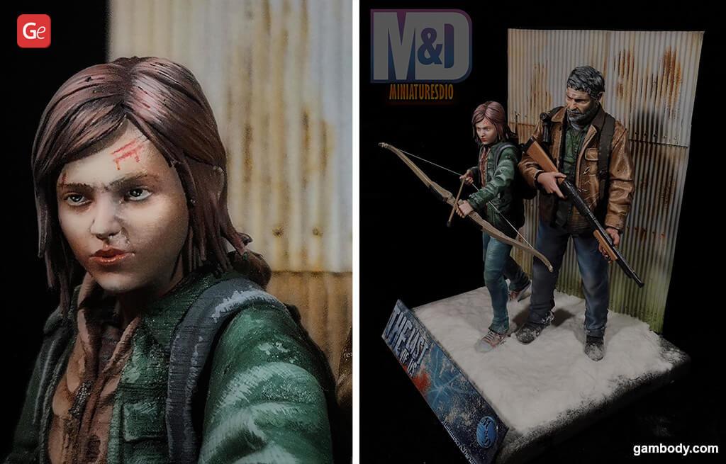 Ellie 3D print The Last of Us
