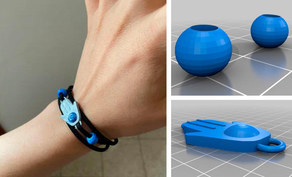 Ellie bracelet Last of Us to 3D print