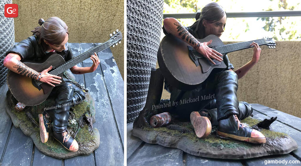 Last of Us 2 Ellie figure life-like 3D print