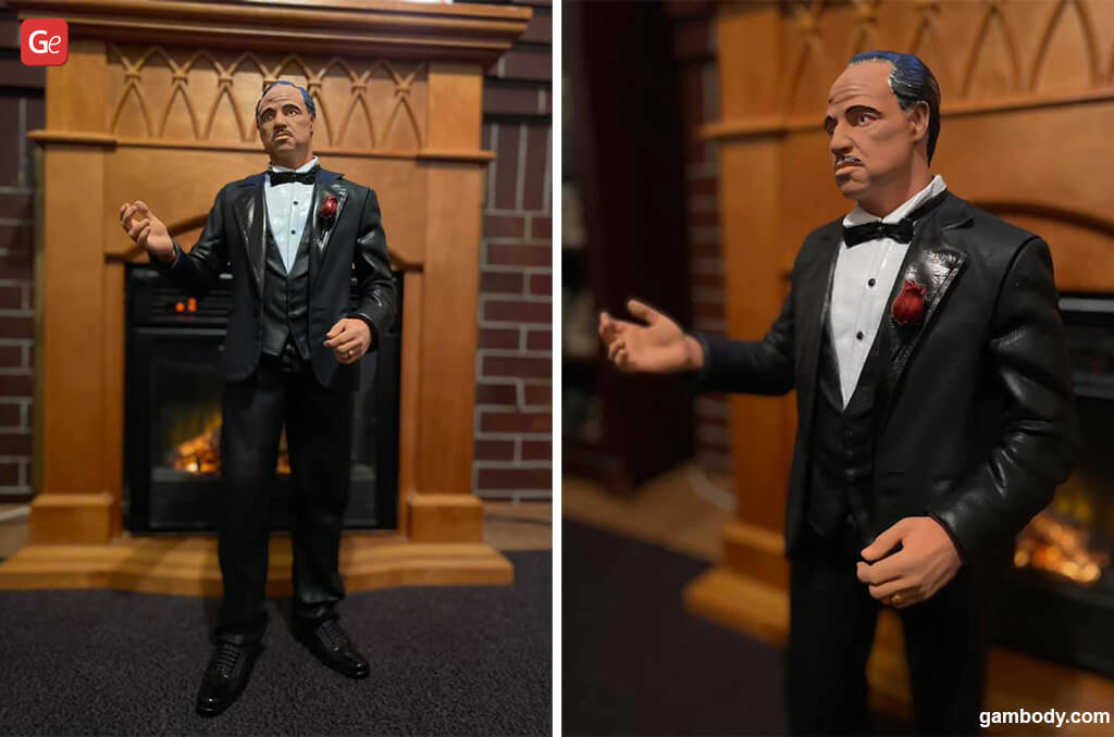 Vito Corleone Godfather fun things to 3D print
