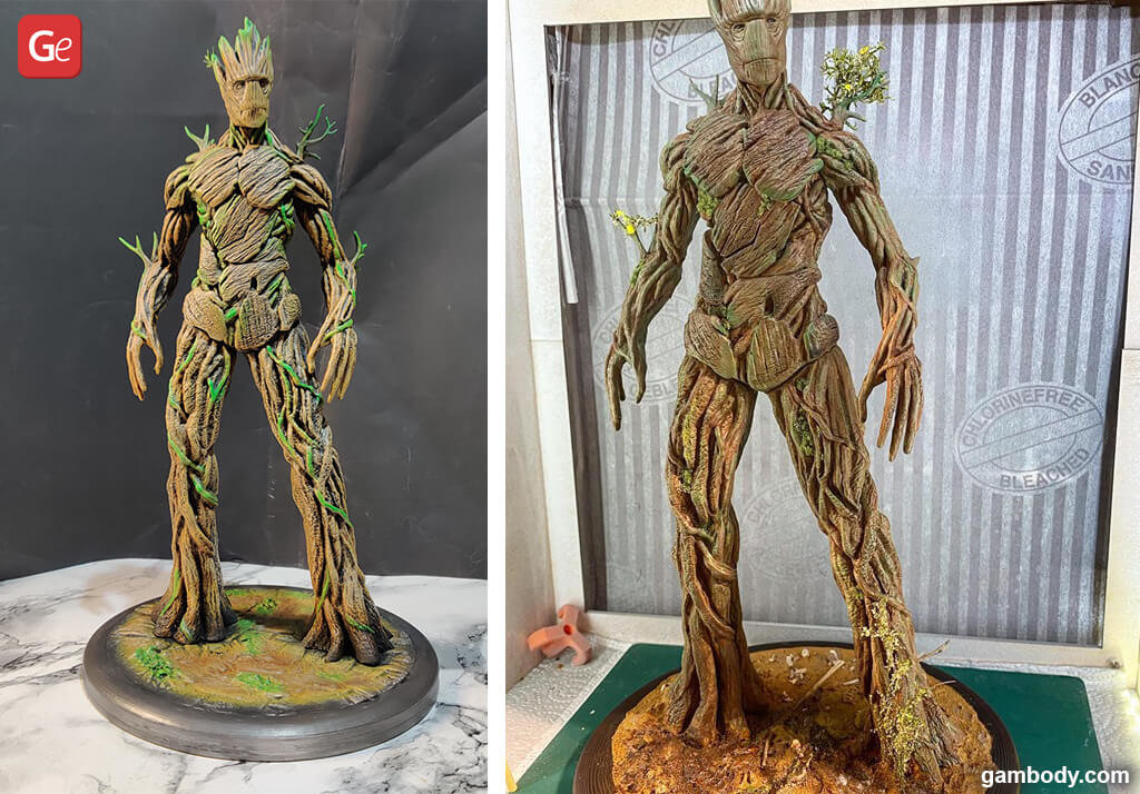 Groot figure fun things to 3D print