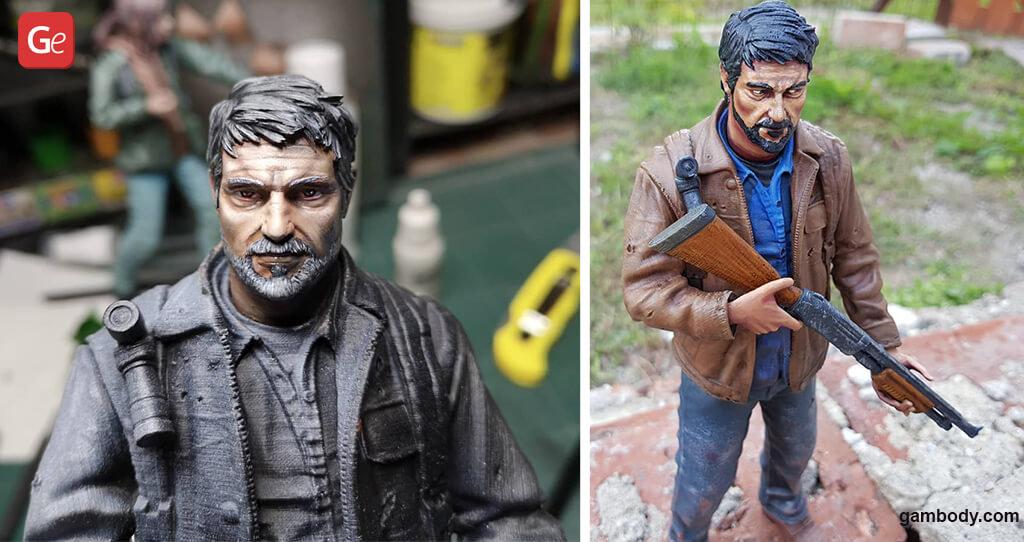 Joel The Last of Us model for 3D printing