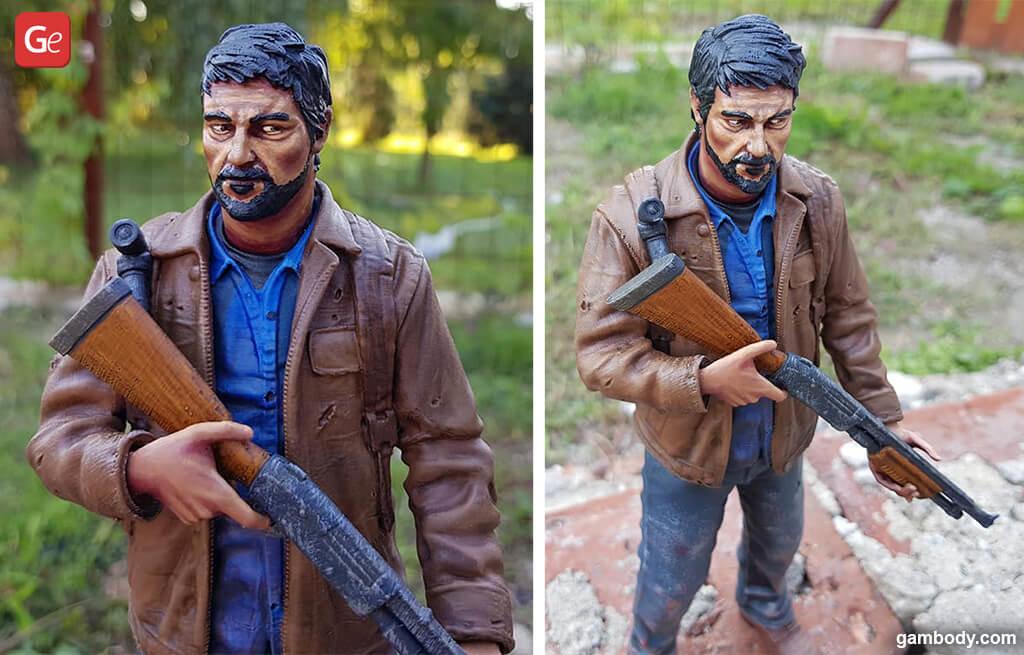 Last of Us Joel Figure realistic 3D print