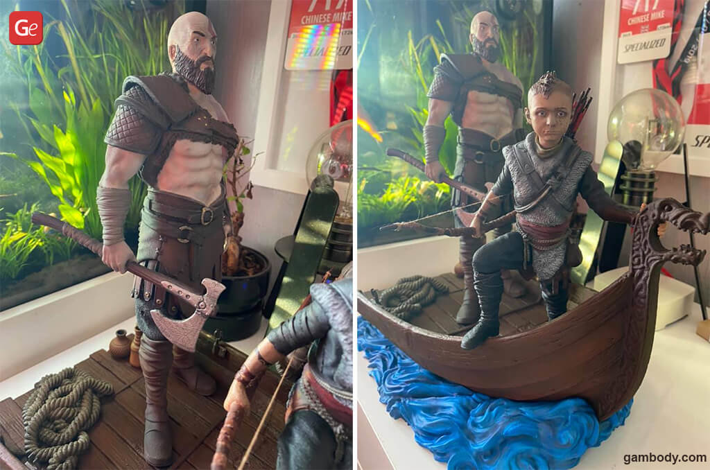 Kratos God of War figure fun things to 3D print